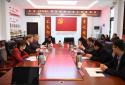 中乌(三门峡)教育培训合作项目工作座谈会在三门峡职业技术学院举行