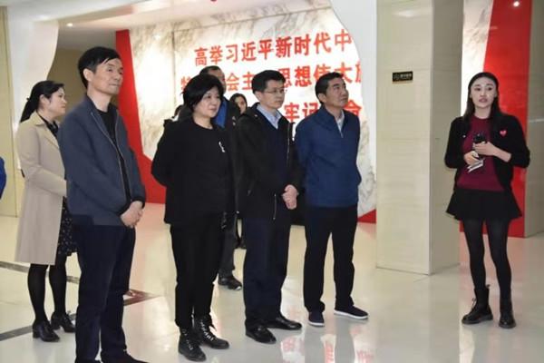 教育部职成司领导调研郑州市管城社区教育工作