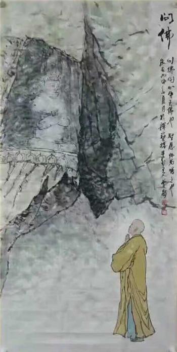 禅语入画 千载寂寥——画家崔云岗作品赏析