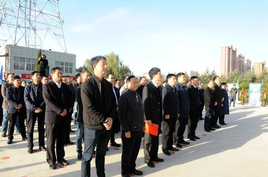 义马市融媒体中心举行揭牌仪式