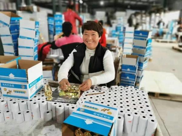 """南召县就业扶贫让贫困群众成为""""上班族"""""""