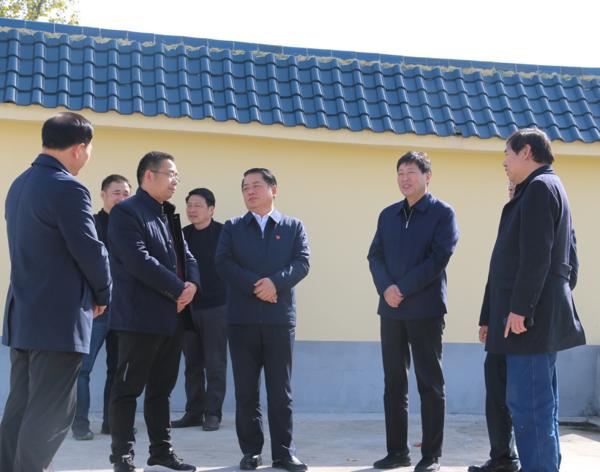 河南省生态环境厅厅长王仲田莅临内乡湍河湿地保护区调研