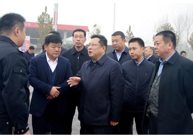 永城市委书记李中华实地调研环境保护工作