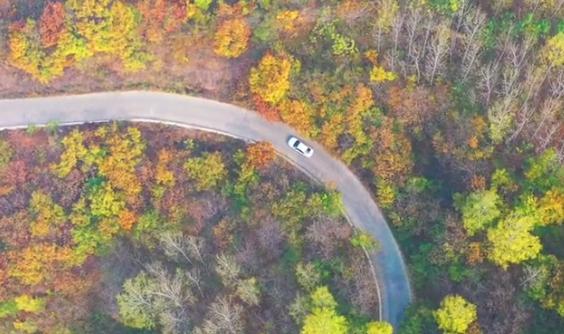 航拍:离郑州最近最美的盘山公路