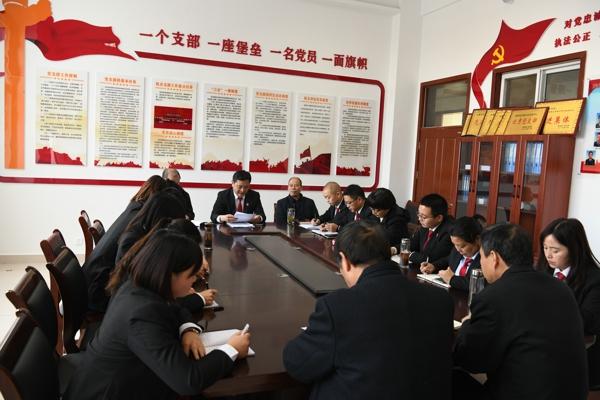 唐河县法院:找准工作结合点,不断提升司法为民成效