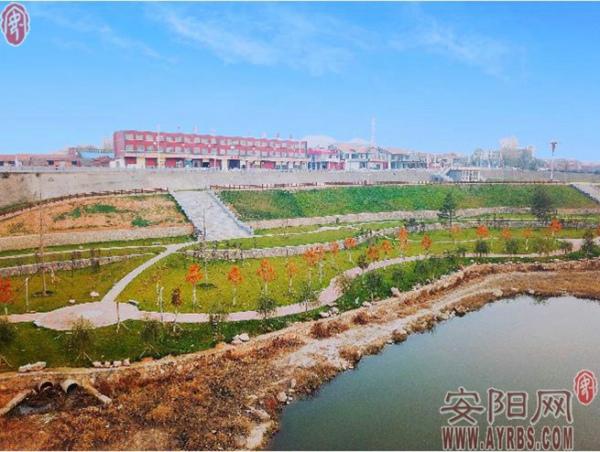 林州洹河之滨绣出山水田园