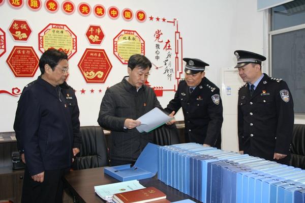 新野县委书记燕峰深入县公安局沙堰、樊集派出所调研公安工作