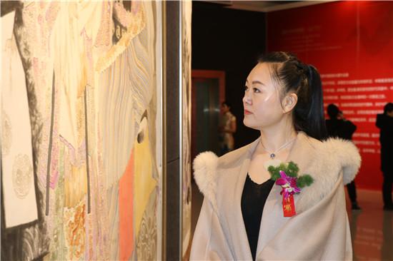 """""""印象·中原""""中国新水墨作品展在郑州美术馆开幕"""