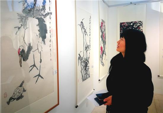 首届中国画大写意学术交流展在河南大观美术馆开幕