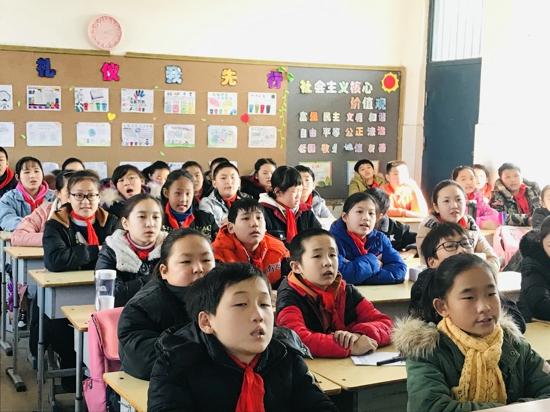 """郑州管城区南关小学开展向校园暴力说""""不""""法治教育中队会"""