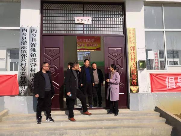 内乡县委组织部到灌涨镇调研基层党建工作