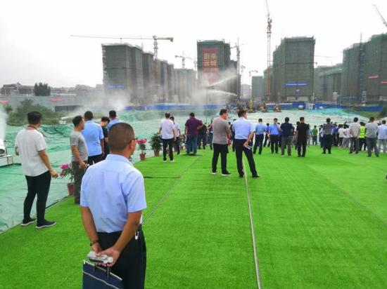 河南华都工程管理有限公司 扬尘治理工作措施及成效