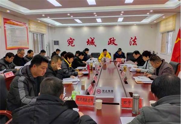 南阳市宛城区召开政法机关服务经济发展高质量工作座谈会