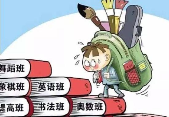 """每天不是在上补习班,就是在去补习班的路上—— 真的要把孩子变成""""鸡娃""""吗?"""