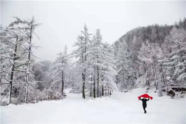 冬季里的浪漫 就是邂逅一场冰雪奇缘