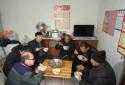 一碗热汤面 浓浓扶贫情——社旗县领导王玉合到古城村督导脱贫攻坚工作