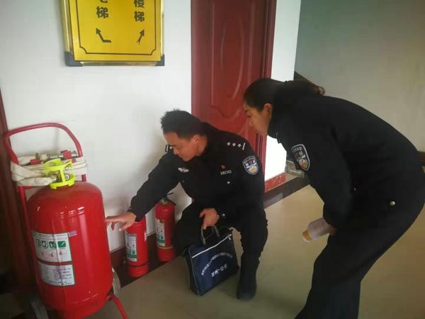 邓州:穰东派出所积极开展冬季消防监督检查工作