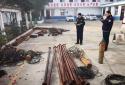 社旗公安:两男子盗窃农田水泵 难逃法网终被抓