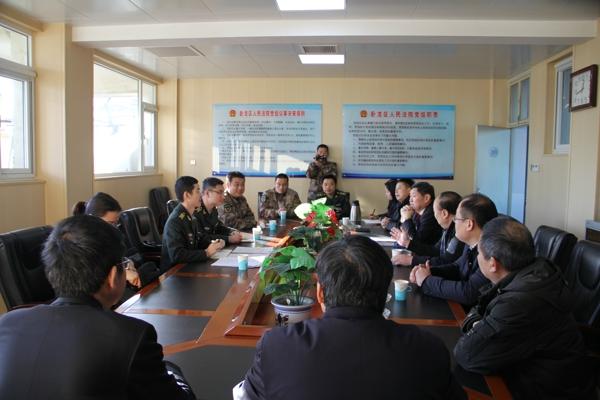 郑州军事法院到卧龙区法院考察调研