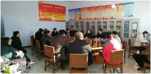 林州市姚村镇重锤频频推扶贫 战鼓声声催奋进