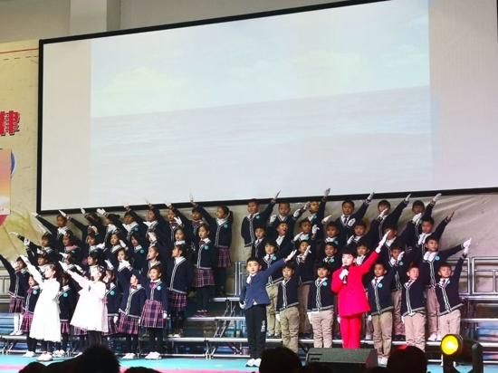 童声颂祖国 经典咏流传——五龙口小学举行第五届国学经典诵读活动