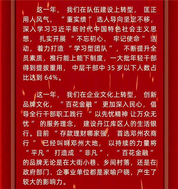 邓州农商银行2020年元旦贺词