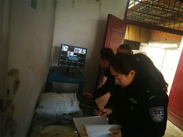 邓州:穰东派出所对辖区寄递物流行业进行安全检查