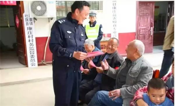 社旗县公安局交警大队:赤胆履使命 勠力保平安