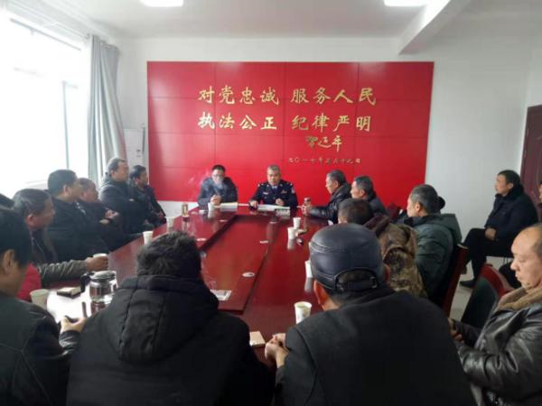 邓州刘集:全面部署冬季治安防范确保群众安全过节