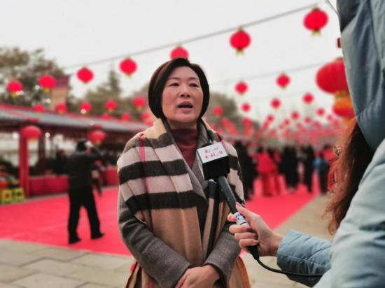 许昌市第七届灞陵桥新春庙会开幕 来4A级景区感受三国豪情