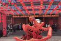 河南许昌第七届灞陵桥新春庙会开幕 来4A级景区感受三国豪情
