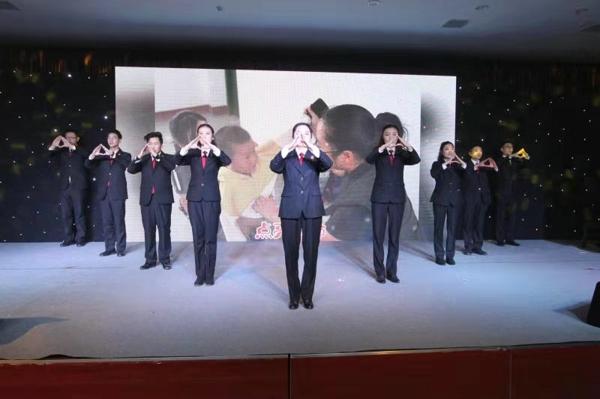 社旗法院举行2020年迎新春团拜会
