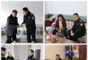 社旗县公安局领导慰问基层民辅警及离退休老干部