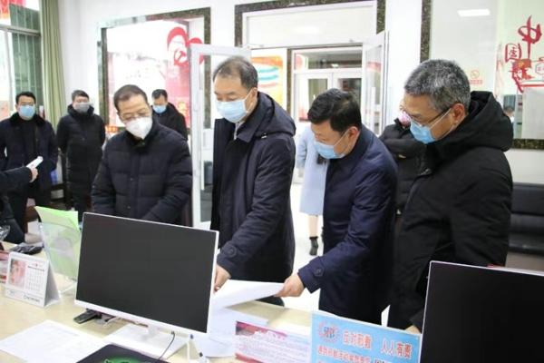 宛城区委常委、副区长陈明远到仲景街道检查指导新型冠状病毒感染的肺炎疫情防控工作