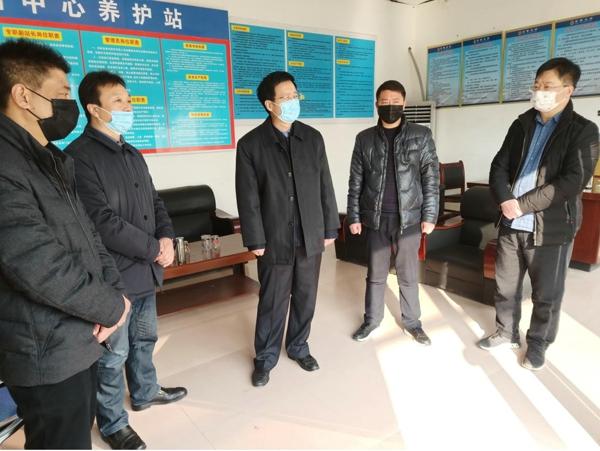 宛城区委书记刘中青检查指导瓦店疫情防控工作