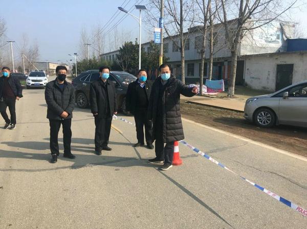 宛城区委书记刘中青到金华镇督导疫情防控工作