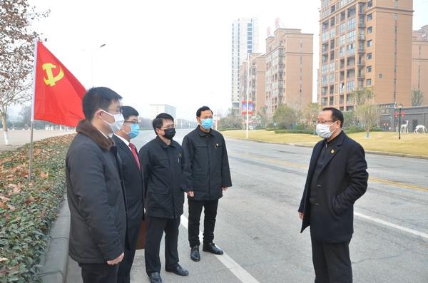 新野县法院党组书记、代院长张万波检查指导疫情防控工作并慰问一线工作人员