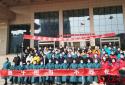 再出征!河南120名医疗队员支援武汉 王国生参加仪式