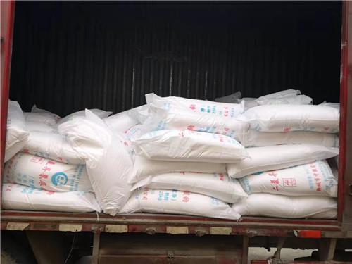 信阳疫情防控物资全面告急 河南众锐大健康向新县捐赠6吨消毒粉剂