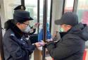 郑州嵩山路分局辅警奋战在疫情巡逻守护第一线