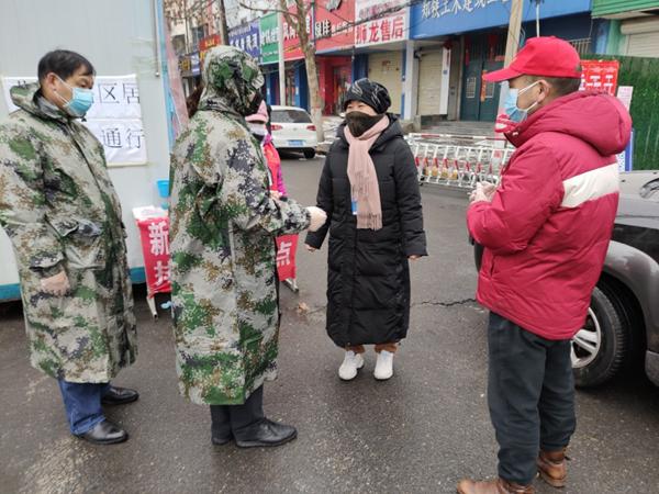 """【社区战""""疫""""】郑州市水政监察队班子深入疫情防控一线"""