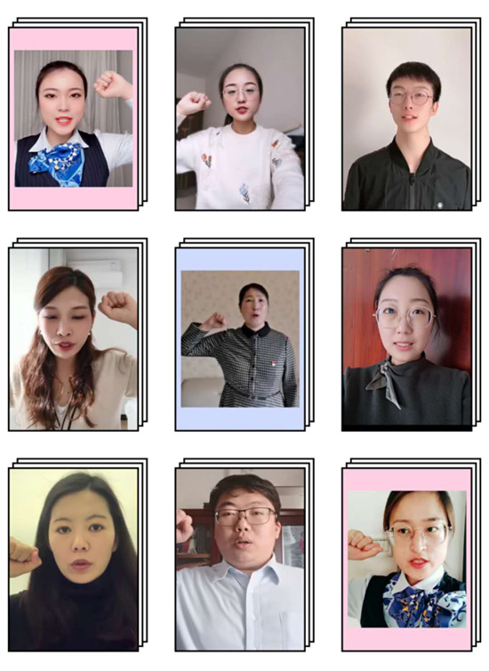 建行郑州金水支行青年志愿先锋服务团队在线成立向疫情宣战