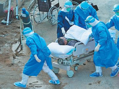 火神山医院重症医学科开始接收新冠肺炎患者