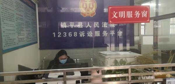 """镇平县法院:防控疫情阻传播,诉讼服务""""不停歇"""""""