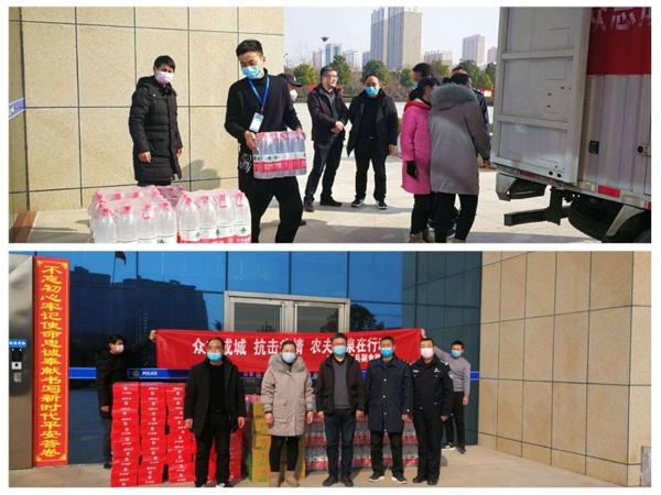 社旗公安:民警抗疫在一线 爱心企业送温暖
