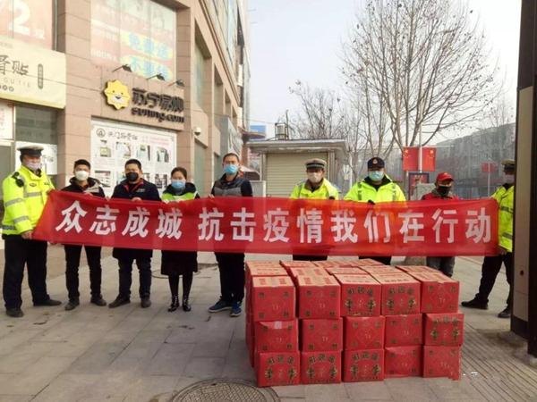 新野县公安局:警民同心 抗击疫情