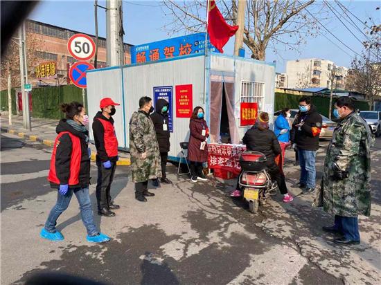 """【社区战""""疫""""】郑州市水政监察支队在行动"""