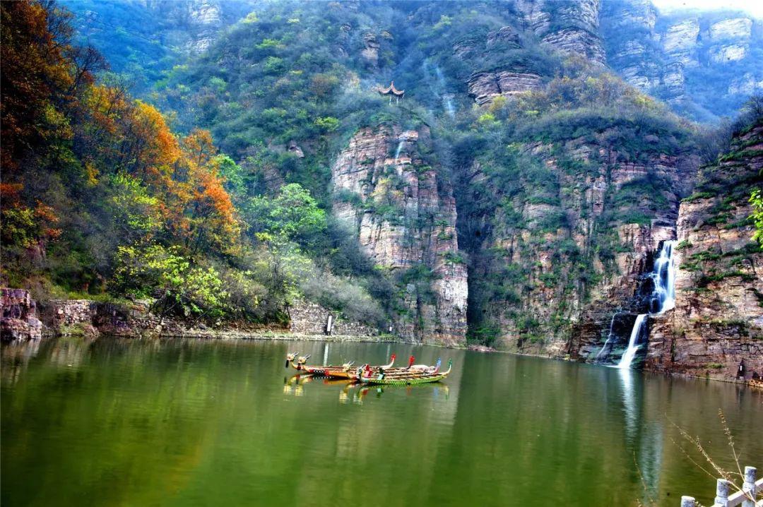 如诗如歌!龙潭大峡谷的人间四季