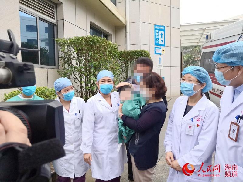 仅3个月大 海南年龄最小的新冠肺炎患者出院了
