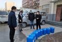 九三学社河南省科学院委员会捐赠消杀药剂支援郑州地区消杀工作